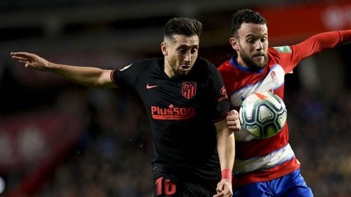 1-1. El Atlético vuelve a empatar, esta vez ante el Granada