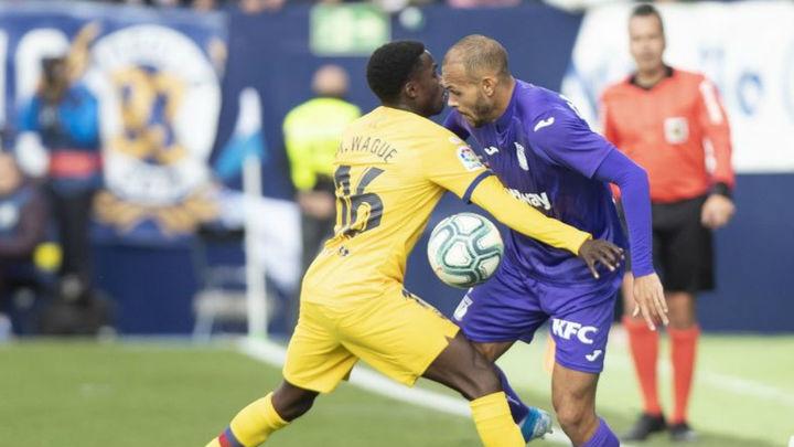 1-2. El Leganés, del sueño de la victoria a la derrota ante el Barça