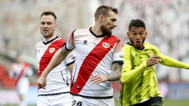 0-1. El Rayo Vallecano cae en Vallecas ante el Zaragoza