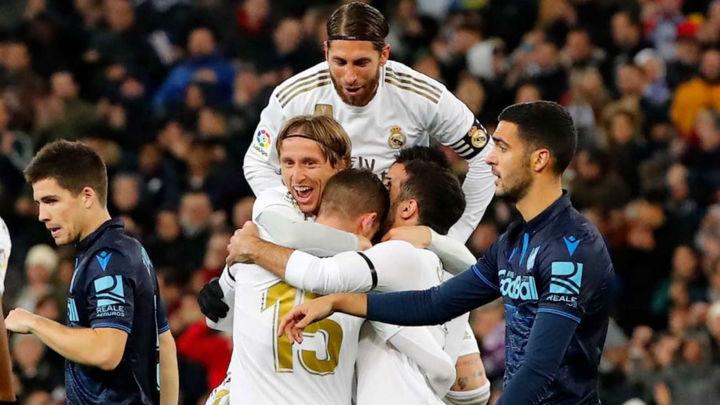 3-1. El Real Madrid remonta a la Real Sociedad