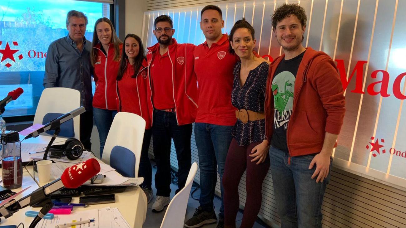 Seleccionadores masculino y femenino de balonmano madrileño