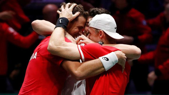 Canadá alcanza la primera final de su historia de la Copa Davis