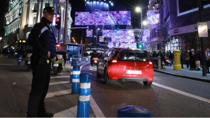 Lo que debes saber del tráfico en Madrid esta Navidad