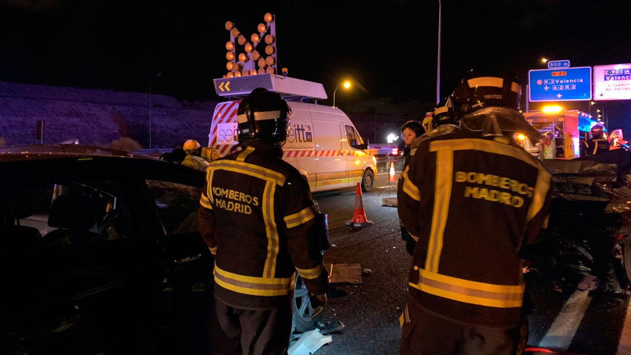 Un policía ebrio, implicado en el accidente donde murió el conductor de una furgoneta en la M-45