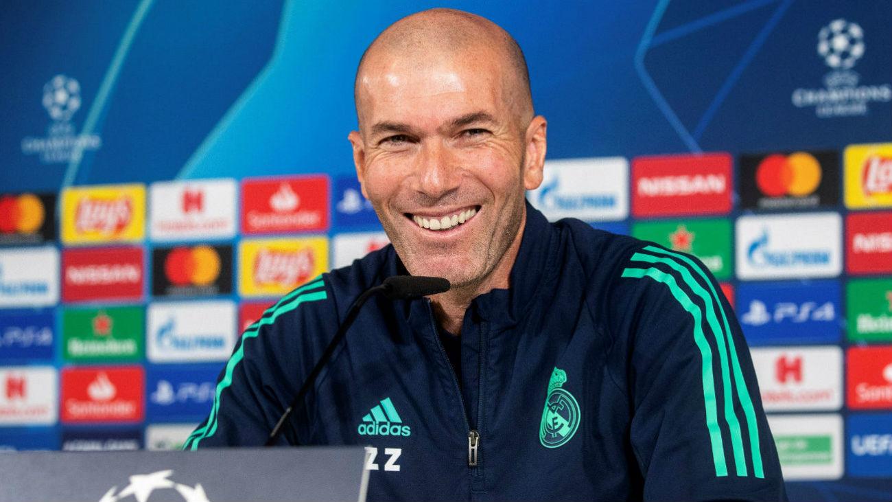 """Zidane no se esconde: """"Estoy enamorado de Mbappé"""""""