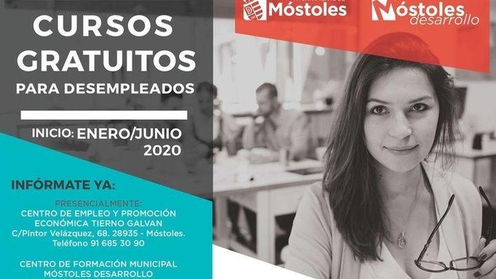 Móstoles Desarrollo reabre la inscripción para una treintena de cursos gratuitos