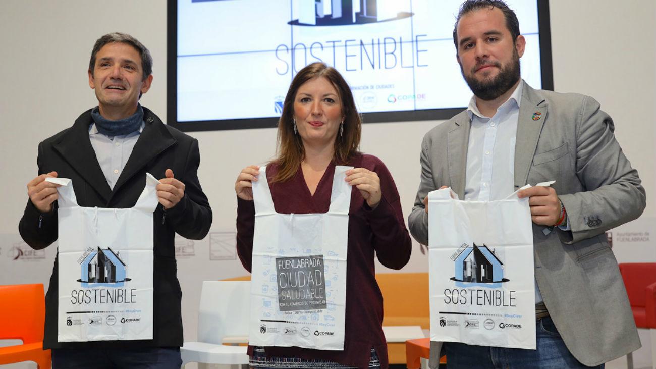 Se repartirán bolsas biodegradables en Fuenlabrada