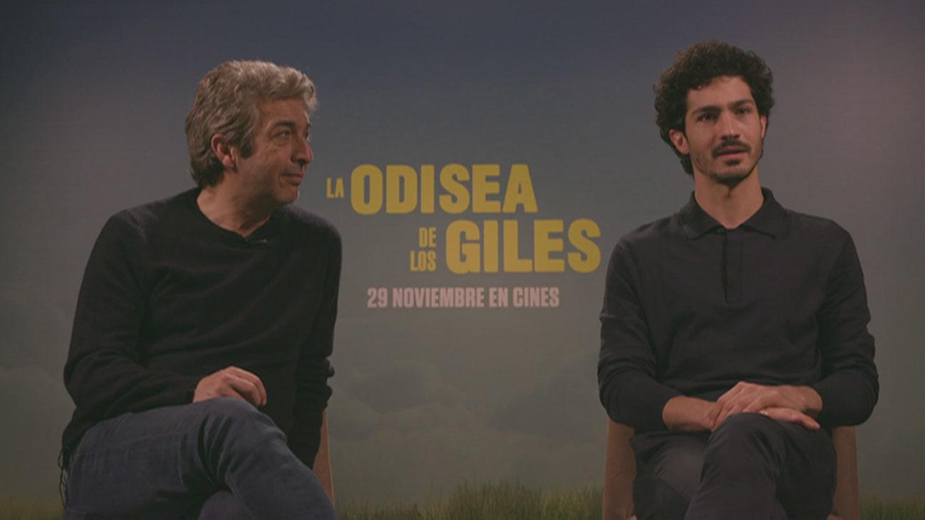 Ricardo y Chino Darín presentan 'La odisea de los giles'