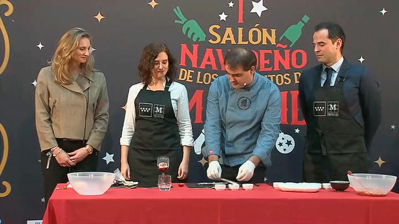 Se inaugura el primer  salón navideño de productos de Madrid