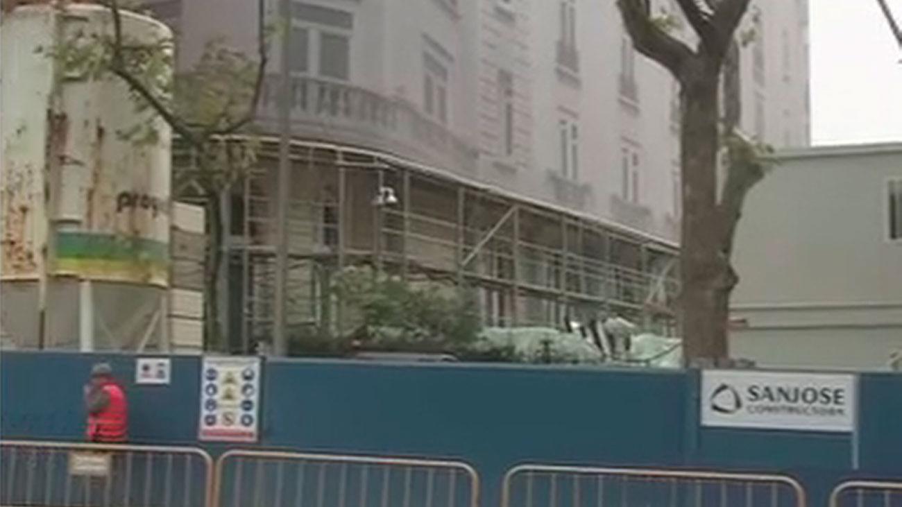 La rehabilitación del Hotel Ritz se hizo sin plan de seguridad
