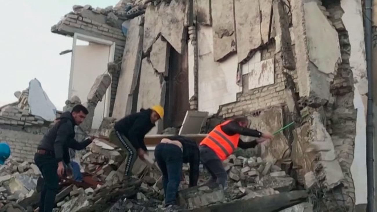 Un terremoto sacude Albania y deja al menos 9 muertos