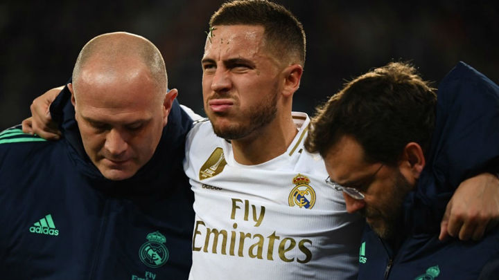 Hazard sufre una nueva lesión muscular, entre cuatro y seis semanas de baja