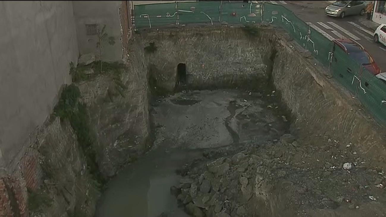 Una piscina de aguas fecales en Ciempozuelos