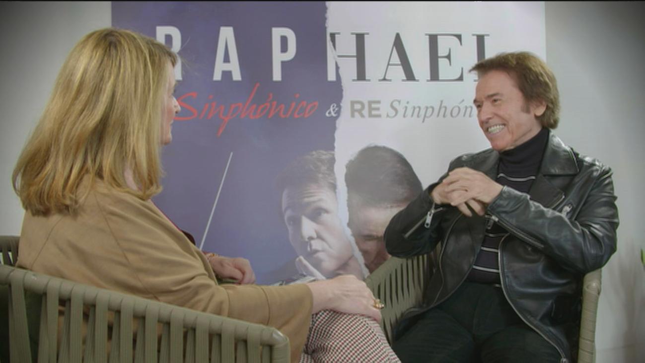 """Raphael: """"Me encanta mi trabajo y se nota"""""""