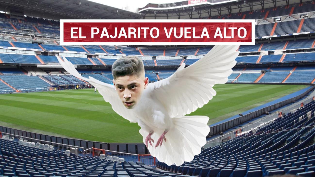 El Bernabéu se rinde a Valverde
