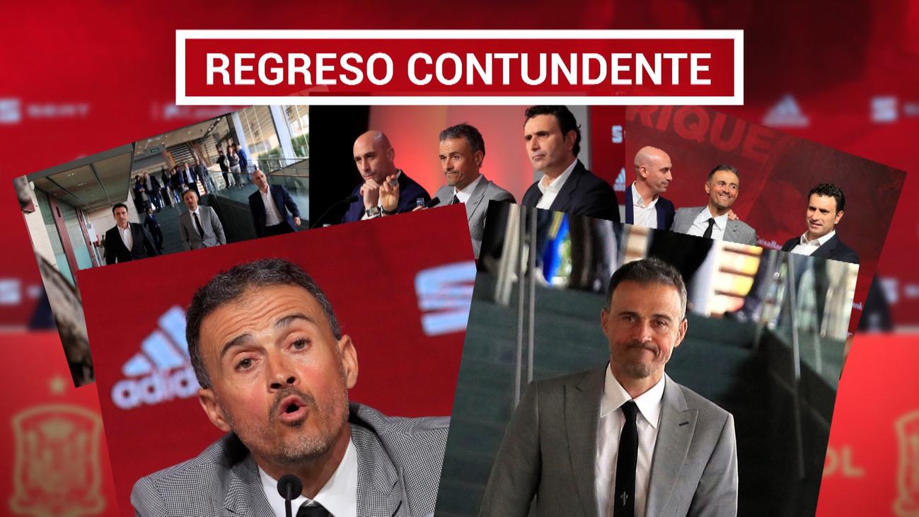 Luis Enrique atiza a Robert Moreno