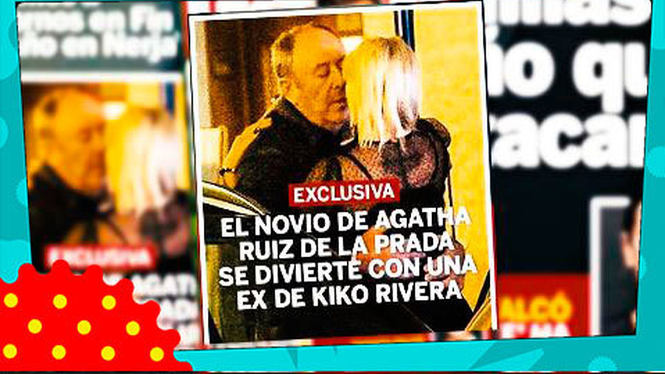 Luis Miguel Rodriguez, novio de Ágatha Ruiz de la Prada, ¡pillado con otra!