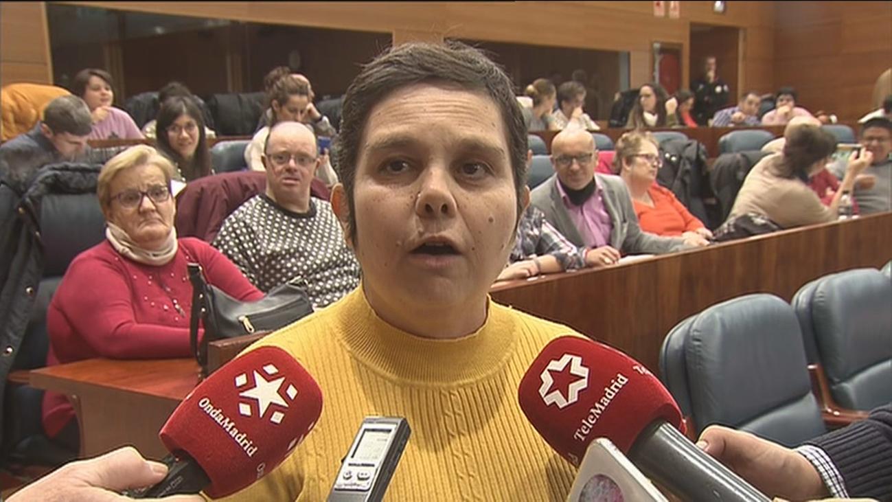 Personas con discapacidad intelectual reivindican su inclusión en la Asamblea de Madrid