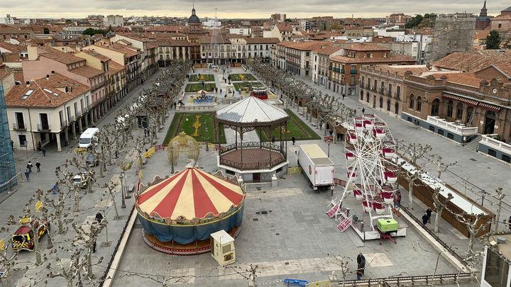 Alcalá albergará un gran árbol de Navidad de 26 metros y una noria