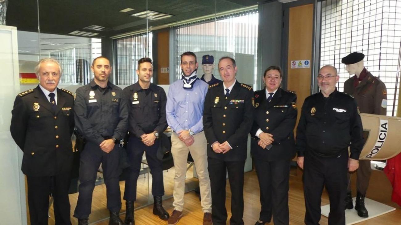 Reaparece el policía gravemente herido durante los disturbios de Barcelona