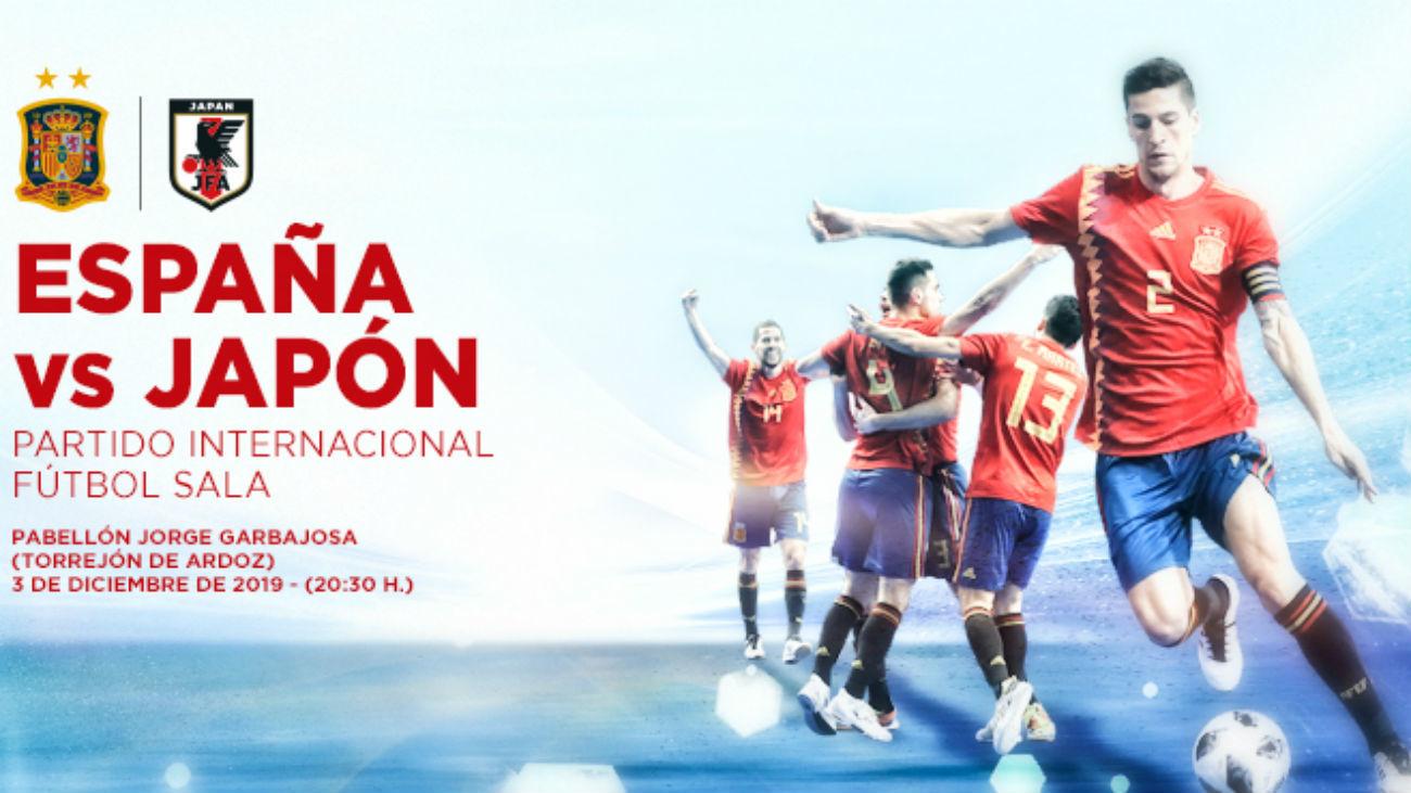 España-Japón de fútbol sala