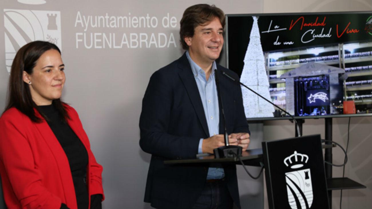 Javier Ayala, alcalde de Fuenlabrada