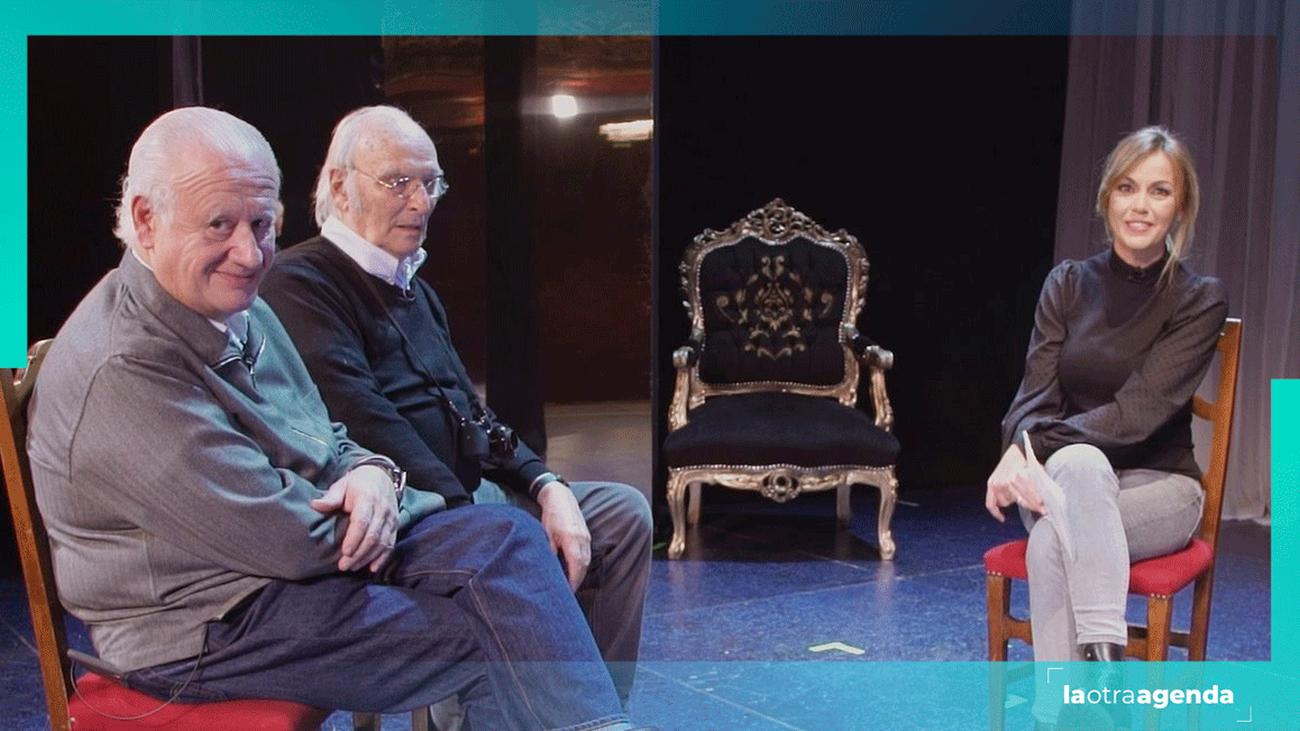 Carlos Saura y Juan Echanove nos descubren 'La Fiesta del Chivo'