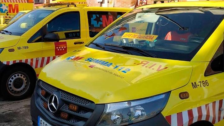 Herida grave una niña de 7 años atropellada por un coche en Pedrezuela