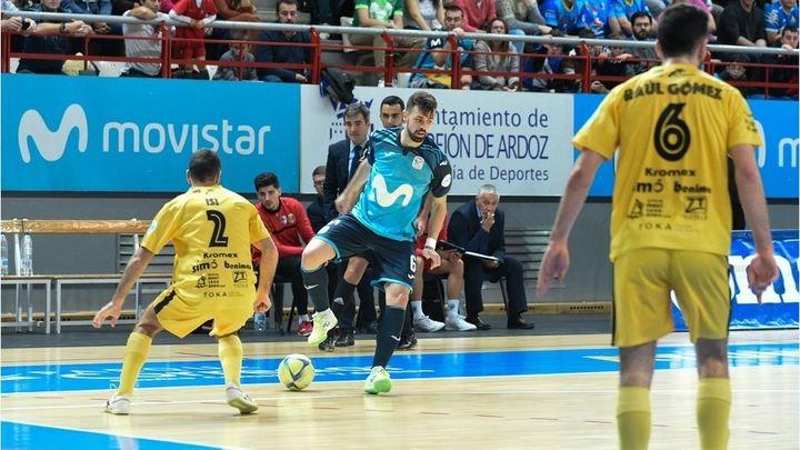 5-4 El Movistar Inter derrota al Peñíscola