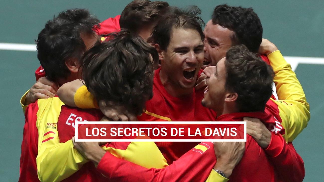 Las imágenes inéditas de la sexta Copa Davis de España