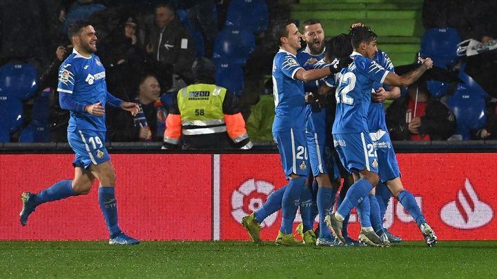 4-0. El Getafe se da un festín ante el Alavés