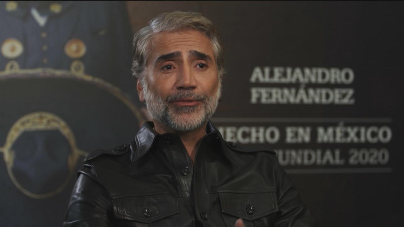 El momento que nunca olvidará Alejandro Fernández