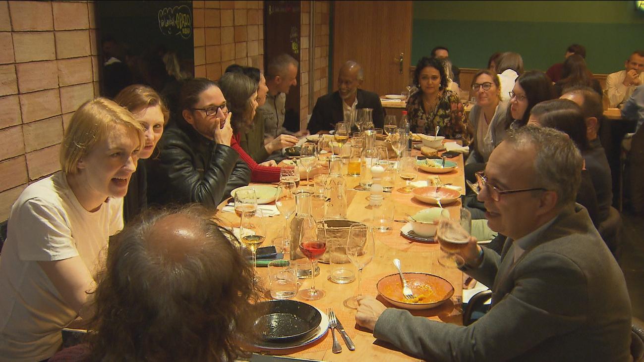 Las cenas de Navidad de las empresas llenan los restaurantes de Madrid