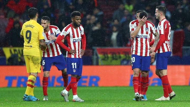 0-1. El Atlético cede ante Messi y Ter Stegen