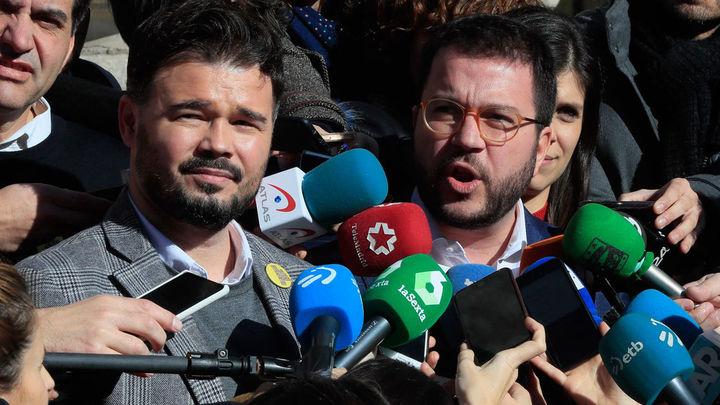 Moncloa rectifica ante las quejas de ERC, habrá mesa de negociación antes de elecciones