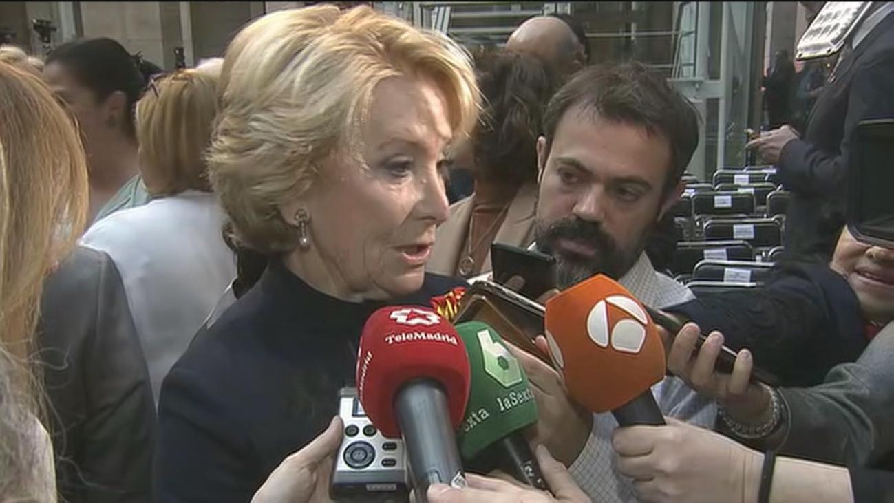 Aguirre cree que el PP debería abstenerse para que Sánchez gobierne en solitario