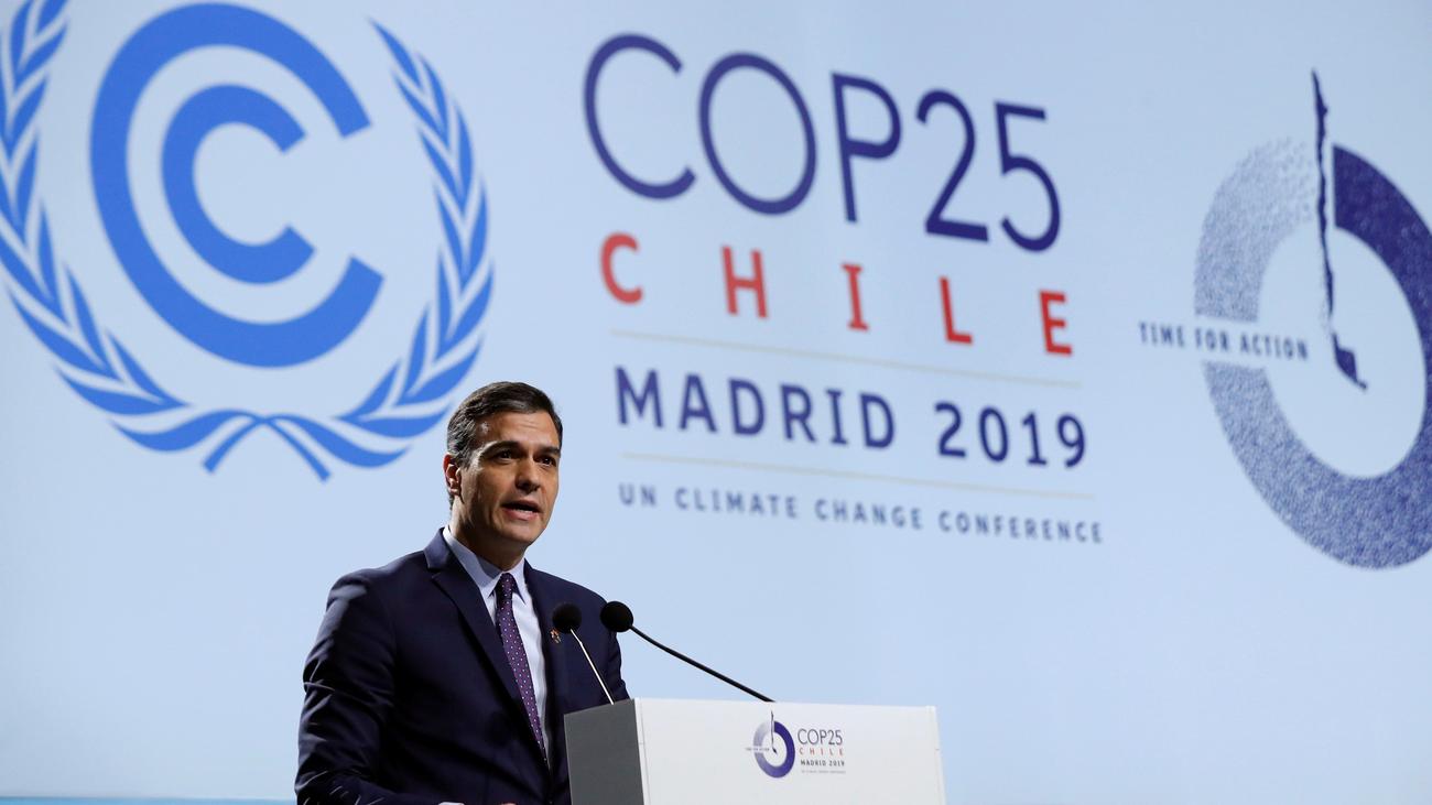 """Pedro Sánchez, en la inauguración de la COP25: """"España está lista para dar un paso al frente"""""""