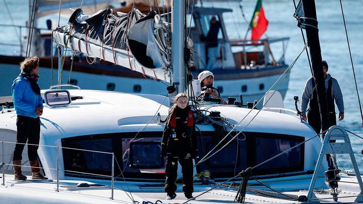 ¿Te parece bien que Greta haya utilizado un catamarán en lugar del avión?
