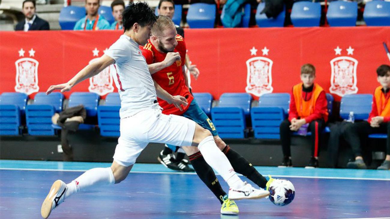 9-1. Torrejón disfruta de la paliza de España a Japón