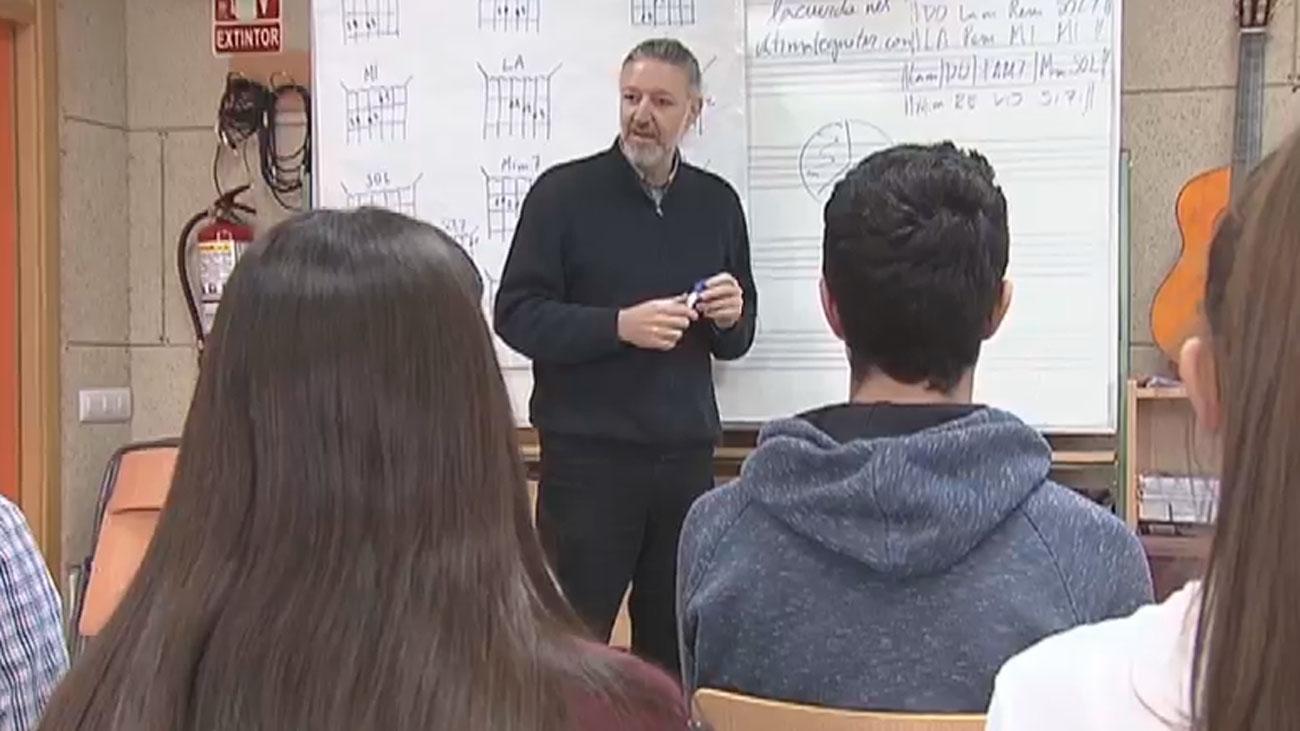Crowdfunding para montar una banda de música en el instituto Nicolás Copérnico de Parla