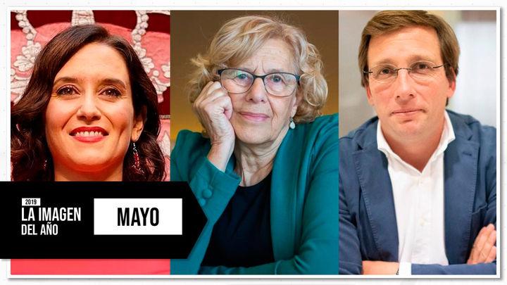 Mayo: El adiós de Carmena y la llegada a Sol de Isabel Díaz Ayuso