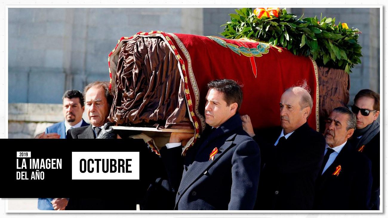 El dictador salió del Valle de los Caídos tras meses de conflicto con su familia