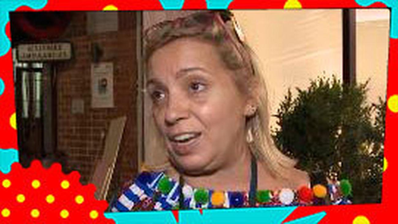 Roban, otra vez, en casa de Carmen Borrego