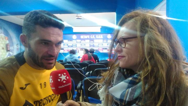 """Jorge Molina: """"Si cuentan conmigo, seguiré en Getafe"""""""