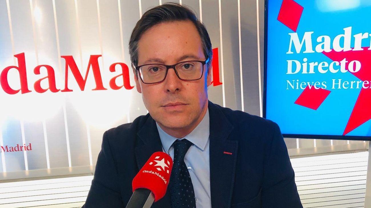 Entrevista al portavoz del PP en la Asamblea, Alfonso Serrano