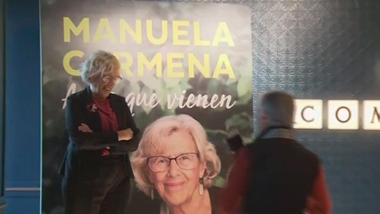 Carmena presenta su libro sobre los refugiados y critica la política del Ayuntamiento de Almeida