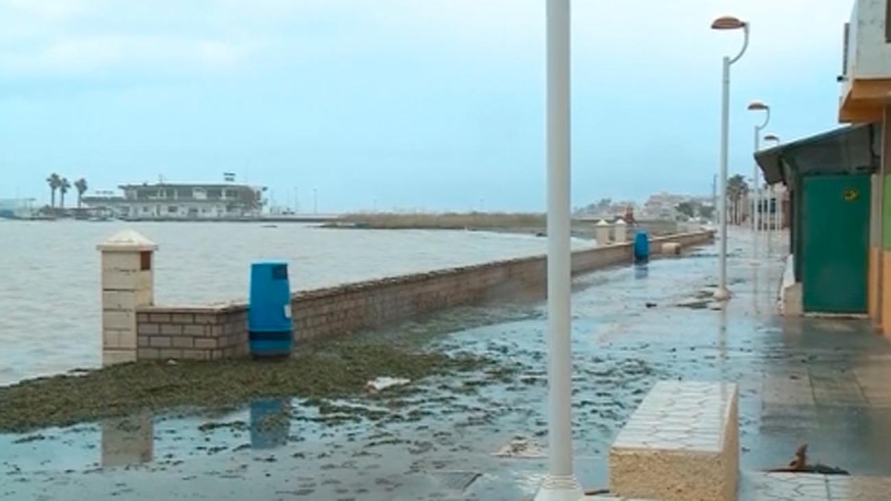 La Dana en el Mediterráneo mantiene en alerta a Baleares, Valencia, Murcia y Cataluña