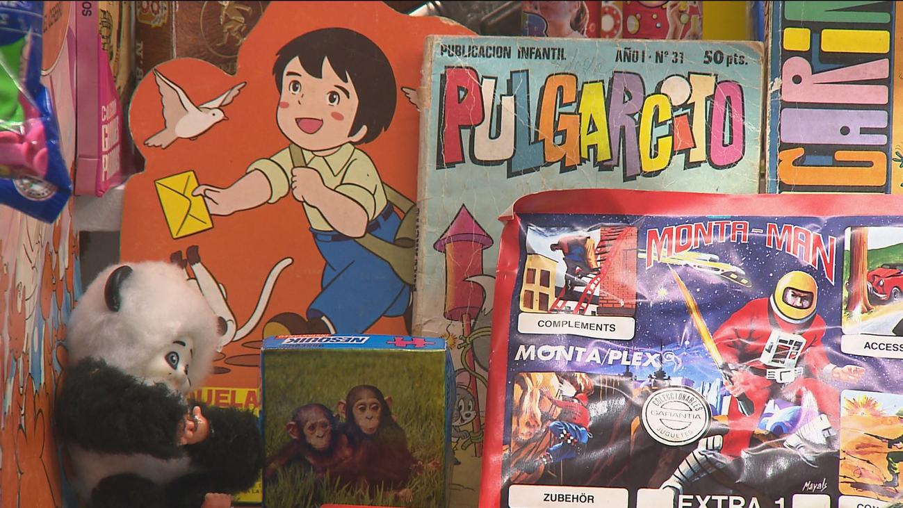 'Yo fui a EGB', una exposición nostálgica en la estación de Chamartín
