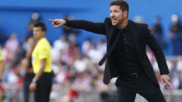 """Simeone:  """"No noto más críticas que en otras temporadas"""""""