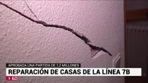 Una partida de 1,2 millones para reparar viviendas en el entorno de la línea 7B en San Fernando